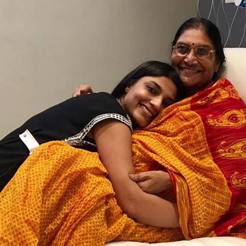 Aditi Avasthi with Mother